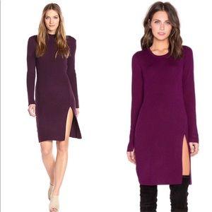 BCBGMaxAzria Gwynn Tunic 🧶 Ribbed Sweater Dress
